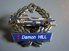 Damon Hill Rothmans Sanyo Renault Formula One Open Wheel Racing Hat Pin