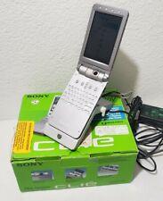 Sony Clie Peg-Nx80V/U Handheld Pda with Cradle Palm Os