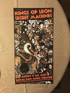Original Kings Of Leon Concert Tour Poster