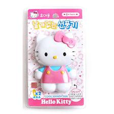 Portable Hello Kitty Mini Electric fan Cute Safe for Summer Hand Fan_Mu