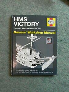 HMS Victory Owner's Workshop Haynes Manual 2018 hardback in MINT