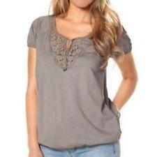 Shirt mit Häkelspitze von Tamaris Gr.36 NEU