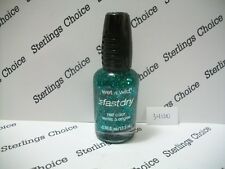 Wet N Wild Fast Dry Nail Color Polish #34100 Emerald in the Crown
