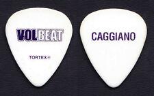Volbeat Rob Caggiano Signature White Guitar Pick - 2016 Seal The Deal Tour