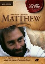 The Visual Bible: Matthew (DVD) Complete 4HR Word-For -Word Movie! Bible Movies