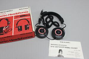 Vintage Realistic LV-10 Stereo Headphones