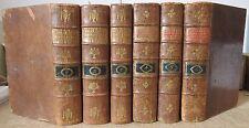REGIE DES DROITS REUNIS RECUEIL GENERAL 6 vol 1806-13 EO HISTOIRE DROIT NAPOLEON