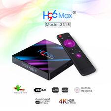 H96 Max Smart Android 9.0 TV Box BT4.0 4GB+ 64GB 2.4G 5G WiFi HD Media Player
