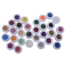 30 Mix Powder Pigment Glitter Mineral Eyeshadow Makeup L3