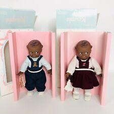 Cameo Kewpie Black Scootles Vinyl Girl And Boy Doll (Jesco) Pre Owned In Box