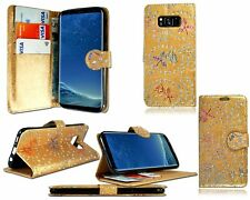 Wallet Flip Leather Case Cover For Samsung Galaxy S3 /S4/ S4 MINI/ S5 /S6+STYLUS