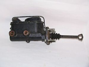 NOS Brake Master Cylinder 67 68 69 Plymouth Barracuda w/ Front Disc Brakes