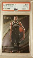 2019-20 Kevin Durant Select Courtside #299 PSA 10 1st Year Brooklyn Nets