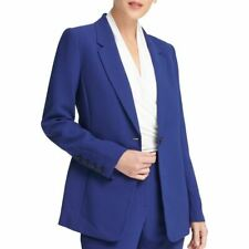 DKNY NEW Women's One-button Blazer Jacket Top TEDO