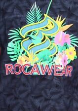 Rocawear Black Mens Big Tall Logo Short Sleeve Shirt 5X 5XL