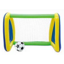Big Play Sports Jumbo Inflatable Swimming Pool Goal and Ball Soccer Sports Set