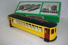 O BOWSER /  (305/4) Bowser Brill Trolley Car – BODY ONLY, O scale.