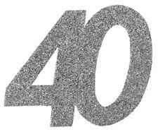 40. Geburtstag Konfetti Confetti Streudekoration Tisch Deko