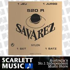 Savarez 520R ( 520-R ) Classical Guitar Strings, High Tension, Red Card Set