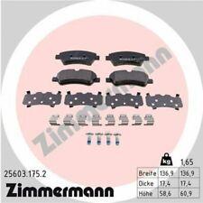 1x Bremsbelagsatz  Scheibenbremse ZIMMERMANN 25603.175.2