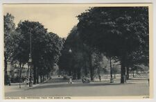 Gloucestershire postcard - Cheltenham, The Promenade from the Queen's Hotel