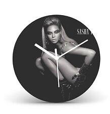 "Beyonce 12"" LP Vinyl Record Wall Clock Gift Modern Present Icon cl106"