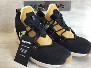 Men's Nike Zoom Moc Trainers 'THE 10TH' Black/Bright Ceramc AT8695-001 Size 12