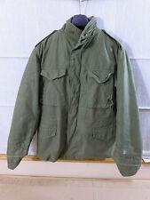 US Army Viet Nam m65 Field Jacket Veste De Champ Olive Medium 1973 + doublure #