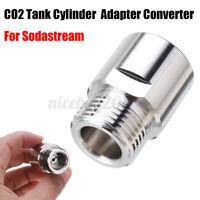 CO2 Atemregler Adapter Konverter für Sodastream Aquarium Zylinder