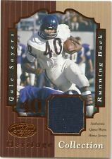 Gale Sayers 2000 Leaf Certified Heritage Collection Jersey 097/100 Chicago Bears