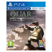 Quar Infernal Machines PlayStation PS4 PSVR 2019 EU English Factory Sealed