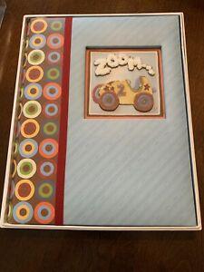 Zoom Zoom Baby Memory Book - C. R. Gibson, New In Box - Baby Gift Album BNIB