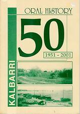 KALBARRI 1951-2001 history western australia murchison river bensted family
