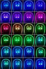 Car Auto Gear Shift Knob LED Light Multi Color Touch Activated Sensor For HONDA