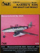Czech Master 1/72 Messerschmitt Me262A Set dettaglio per Academy # 7173