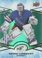 2018-19 Upper Deck Ice Hockey Green #19 Henrik Lundqvist New York Rangers