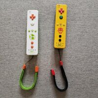 Yoshi & Bowser Wii Remote Bundle Wiimote OEM Motion Plus Limited Edition