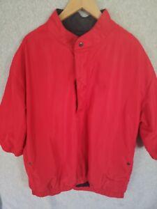 FootJoy Pullover Golf Wind Rain Mens Jacket Size XL Windbreaker 1/4 zip