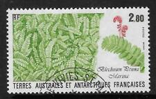 TAAF FRENCH ANTARCTIC 1989 Blechnum Penna Marina FERN 1v FINE USED