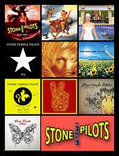 "STONE TEMPLE PILOTS album discography magnet (4.5"" x 3.5"") Scott Weiland"