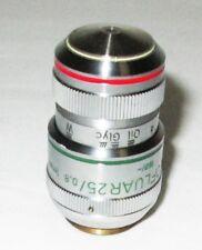 Zeiss 461626 Ph2 Plan Neofluar 25x 08 1mm Oil Glyc W Axio Microscope Objective