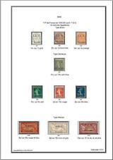 -Album de timbres Syrie 1919-1945 à imprimer