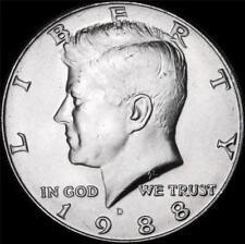 1988 D Kennedy Half Dollar - BU