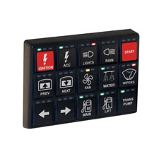 MoTeC 15 BUTTON CAN KEYPAD 3 X 5 HORIZONTAL