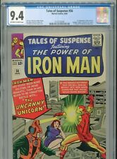 1964 MARVEL TALES OF SUSPENSE #56 1ST APPEARANCE THE UNICORN CGC 9.4 OW-W BOX5