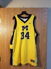 Vintage Michigan Wolverines Basketball Jersey #34 2XL