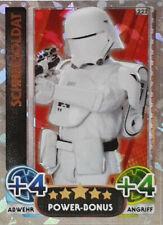 Topps Star Wars Das Erwachen der Macht Force Attax Schneesoldat 222 Power Bonus