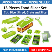 Food Grater Slicer Chopper Shredder Salad Maker Vegetable Fruit Cutter Mandolin