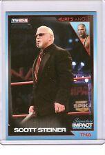 TNA SIGNATURE IMPACT 2011 TRADING CARD SCOTT STEINER # 16 PARALLEL #36/50