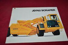 John Deere 762 Scraper Dealer's Brochure RPMD